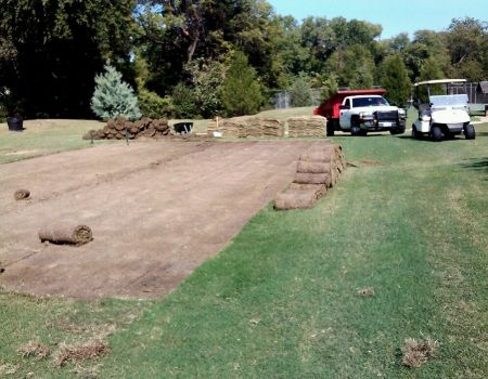 Tee Box Addition #16 at Stevens Park